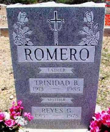 ROMERO, REYES - Yavapai County, Arizona | REYES ROMERO - Arizona Gravestone Photos