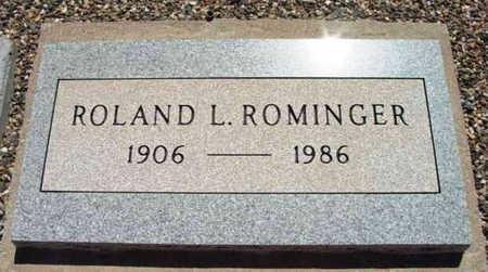 ROMINGER, ROLAND L. - Yavapai County, Arizona | ROLAND L. ROMINGER - Arizona Gravestone Photos