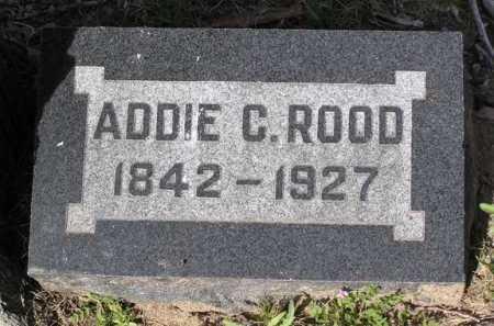 ROOD, ADDIE C. - Yavapai County, Arizona | ADDIE C. ROOD - Arizona Gravestone Photos