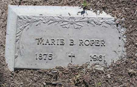 BURDICK ROPER, MARIE B. - Yavapai County, Arizona | MARIE B. BURDICK ROPER - Arizona Gravestone Photos