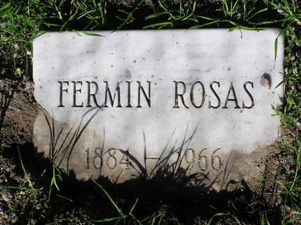 ROSAS, FERMIN - Yavapai County, Arizona | FERMIN ROSAS - Arizona Gravestone Photos