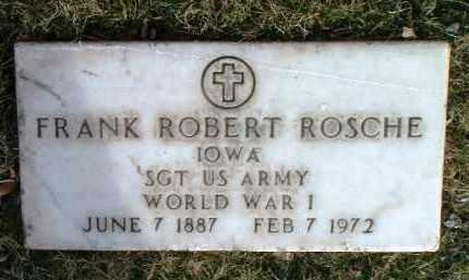 ROSCHE, FRANK ROBERT - Yavapai County, Arizona | FRANK ROBERT ROSCHE - Arizona Gravestone Photos