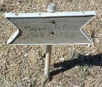 ROSE, MAXWELL RAYMOND - Yavapai County, Arizona | MAXWELL RAYMOND ROSE - Arizona Gravestone Photos