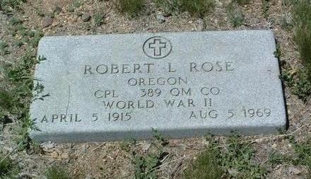 ROSE, ROBERT LOUGHRIDGE - Yavapai County, Arizona | ROBERT LOUGHRIDGE ROSE - Arizona Gravestone Photos