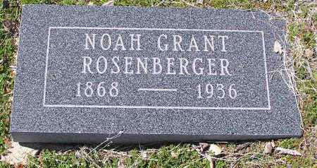 ROSENBERGER, NOAH G. - Yavapai County, Arizona | NOAH G. ROSENBERGER - Arizona Gravestone Photos