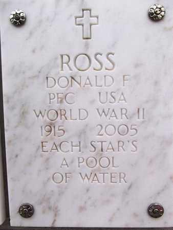 ROSS, DONALD FAY - Yavapai County, Arizona | DONALD FAY ROSS - Arizona Gravestone Photos
