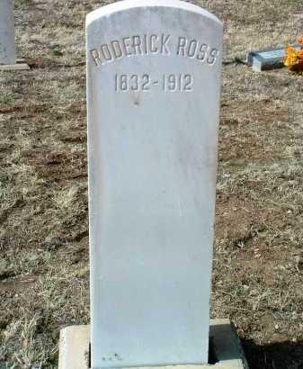 ROSS, RODERICK - Yavapai County, Arizona | RODERICK ROSS - Arizona Gravestone Photos
