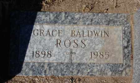 BALDWIN ROSS, GRACE DEWEY - Yavapai County, Arizona | GRACE DEWEY BALDWIN ROSS - Arizona Gravestone Photos