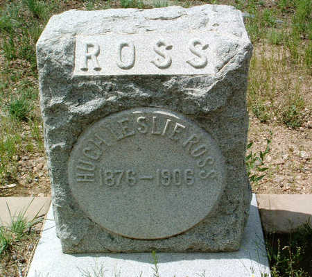 ROSS, HUGH LESLIE - Yavapai County, Arizona   HUGH LESLIE ROSS - Arizona Gravestone Photos