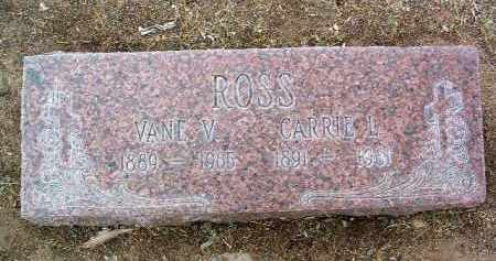 ROSS, VANE VILBERT - Yavapai County, Arizona | VANE VILBERT ROSS - Arizona Gravestone Photos