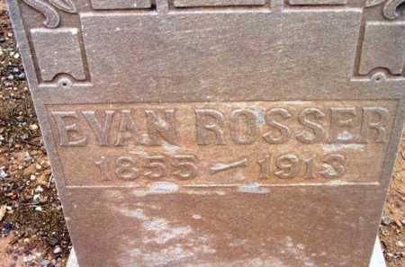 ROSSER, EVEN - Yavapai County, Arizona | EVEN ROSSER - Arizona Gravestone Photos