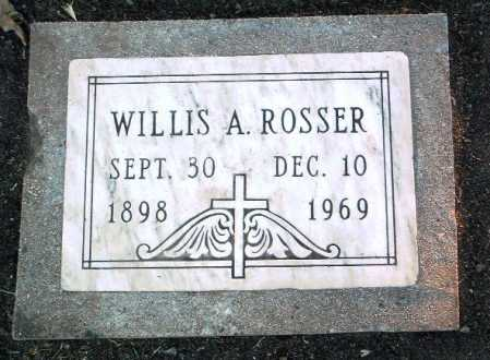 ROSSER, WILLIS ALLEN - Yavapai County, Arizona | WILLIS ALLEN ROSSER - Arizona Gravestone Photos