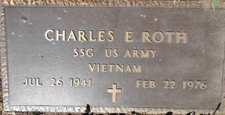 ROTH, CHARLES E. - Yavapai County, Arizona   CHARLES E. ROTH - Arizona Gravestone Photos