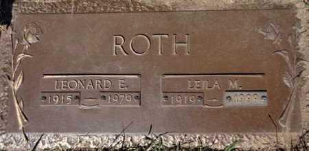 ROTH, LEILA MAE - Yavapai County, Arizona | LEILA MAE ROTH - Arizona Gravestone Photos