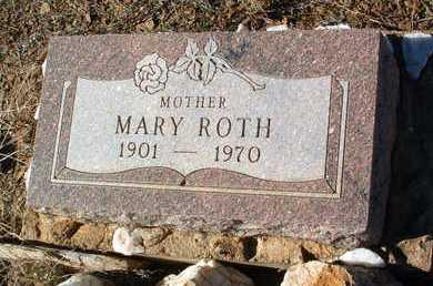 ROTH, MARY - Yavapai County, Arizona | MARY ROTH - Arizona Gravestone Photos