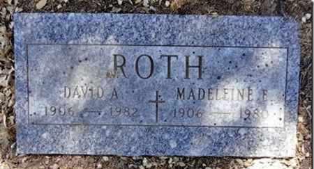 GOSTEILE ROTH, MADELEINE - Yavapai County, Arizona | MADELEINE GOSTEILE ROTH - Arizona Gravestone Photos