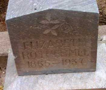 ROTHERMEL, ELIZBETH - Yavapai County, Arizona | ELIZBETH ROTHERMEL - Arizona Gravestone Photos