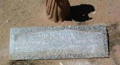 WHEELER ROUNDS, ANNE - Yavapai County, Arizona   ANNE WHEELER ROUNDS - Arizona Gravestone Photos