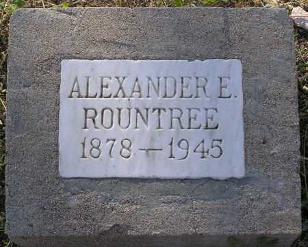 ROUNTREE, ALEXANDER EVERETT - Yavapai County, Arizona | ALEXANDER EVERETT ROUNTREE - Arizona Gravestone Photos