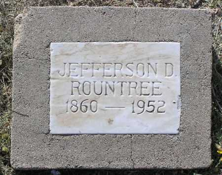 ROUNTREE, JEFFERSON DAVIS - Yavapai County, Arizona | JEFFERSON DAVIS ROUNTREE - Arizona Gravestone Photos