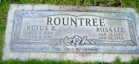 ROUNTREE, ROSA LEE - Yavapai County, Arizona | ROSA LEE ROUNTREE - Arizona Gravestone Photos
