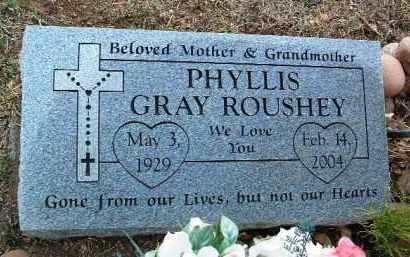 GRAY ROUSHEY, PHYLLIS - Yavapai County, Arizona | PHYLLIS GRAY ROUSHEY - Arizona Gravestone Photos