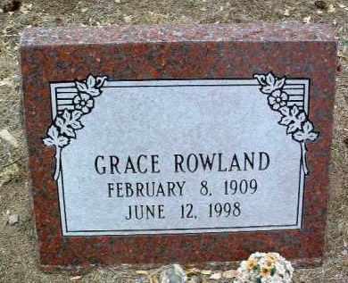 FINLEY ROWLAND, GRACE - Yavapai County, Arizona   GRACE FINLEY ROWLAND - Arizona Gravestone Photos