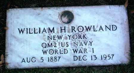 ROWLAND, WILLIAM H. - Yavapai County, Arizona | WILLIAM H. ROWLAND - Arizona Gravestone Photos