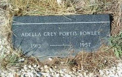 ROWLEY, ADELLA GREY - Yavapai County, Arizona | ADELLA GREY ROWLEY - Arizona Gravestone Photos