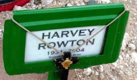 ROWTON, HARVEY - Yavapai County, Arizona | HARVEY ROWTON - Arizona Gravestone Photos