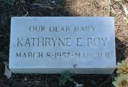 ROY, KATHRYNE E. - Yavapai County, Arizona | KATHRYNE E. ROY - Arizona Gravestone Photos
