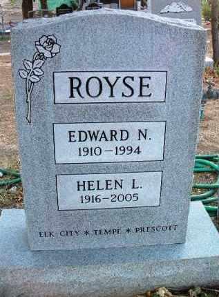 ROYSE, HELEN LOUISE - Yavapai County, Arizona | HELEN LOUISE ROYSE - Arizona Gravestone Photos
