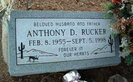 RUCKER, ANTHONY DENNIS - Yavapai County, Arizona | ANTHONY DENNIS RUCKER - Arizona Gravestone Photos