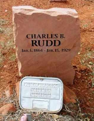 RUDD, CHARLES BENJAMIN - Yavapai County, Arizona   CHARLES BENJAMIN RUDD - Arizona Gravestone Photos