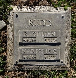 GIBSON RUDD, MARJORIE J. - Yavapai County, Arizona   MARJORIE J. GIBSON RUDD - Arizona Gravestone Photos