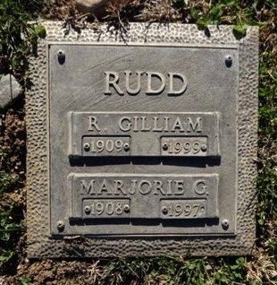 RUDD, ROBERT GILLIAM (GIL) - Yavapai County, Arizona | ROBERT GILLIAM (GIL) RUDD - Arizona Gravestone Photos