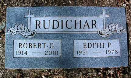 RUDICHAR, ROBERT GEORGE - Yavapai County, Arizona | ROBERT GEORGE RUDICHAR - Arizona Gravestone Photos