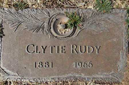RUDY, CLYTIE (CLYCINA) - Yavapai County, Arizona | CLYTIE (CLYCINA) RUDY - Arizona Gravestone Photos