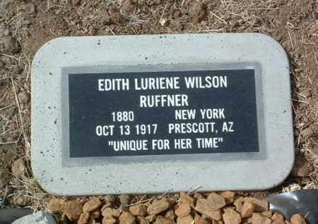 RUFFNER, EDITH LURIENE - Yavapai County, Arizona | EDITH LURIENE RUFFNER - Arizona Gravestone Photos