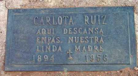 MADRID RUIZ, CARLOTA - Yavapai County, Arizona | CARLOTA MADRID RUIZ - Arizona Gravestone Photos