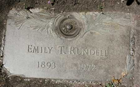 RUNDELL, EMILY T. - Yavapai County, Arizona | EMILY T. RUNDELL - Arizona Gravestone Photos