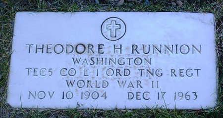 RUNNION, THEODORE H. - Yavapai County, Arizona   THEODORE H. RUNNION - Arizona Gravestone Photos