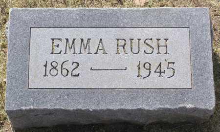 HOOKER RUSH, EMMA - Yavapai County, Arizona | EMMA HOOKER RUSH - Arizona Gravestone Photos