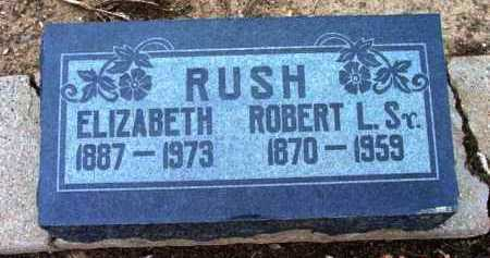 RUSH, ROBERT LINZY, SR. - Yavapai County, Arizona | ROBERT LINZY, SR. RUSH - Arizona Gravestone Photos