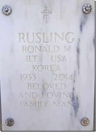 RUSLING, RONALD MARTIN - Yavapai County, Arizona | RONALD MARTIN RUSLING - Arizona Gravestone Photos