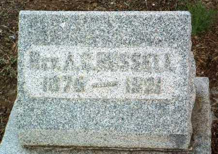 RUSSELL, A. C. (REV.) - Yavapai County, Arizona | A. C. (REV.) RUSSELL - Arizona Gravestone Photos