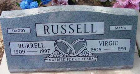 RUSSELL, VIRGINIA MARGARET - Yavapai County, Arizona | VIRGINIA MARGARET RUSSELL - Arizona Gravestone Photos