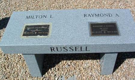 RUSSELL, BENCH - Yavapai County, Arizona | BENCH RUSSELL - Arizona Gravestone Photos