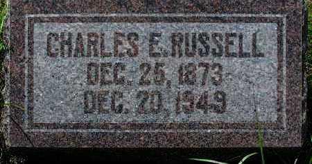 RUSSELL, CHARLES E. - Yavapai County, Arizona   CHARLES E. RUSSELL - Arizona Gravestone Photos