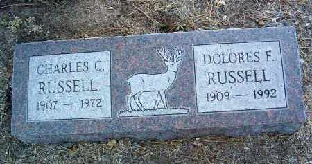 RUSSELL, CHARLES CLIFFORD - Yavapai County, Arizona | CHARLES CLIFFORD RUSSELL - Arizona Gravestone Photos